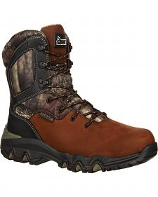 Rocky Bigfoot Waterproof Insulated Outdoor Boots - Round Toe