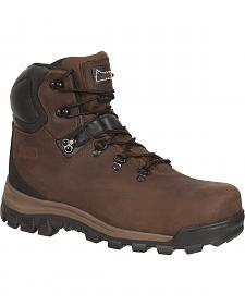 Rocky Core Waterproof Hiker Work Boots - Round Toe
