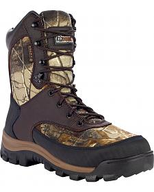 Rocky Core Waterproof Insulated Outdoor Boots - Round Toe