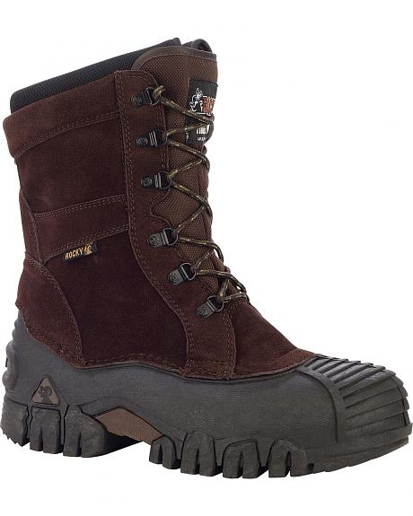 Rocky Jasper-Trac Insulated Outdoor Boots - Round Toe