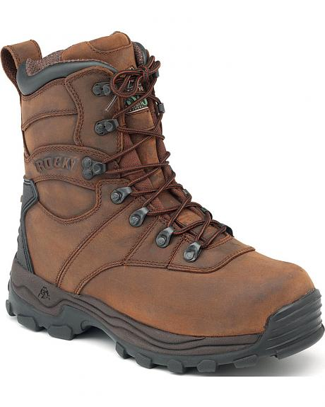 Rocky Sport Utility Pro Insulated Waterproof Boots - Round Toe