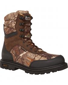 Rocky Brute Waterproof Insulated Outdoor Boots - Round Toe