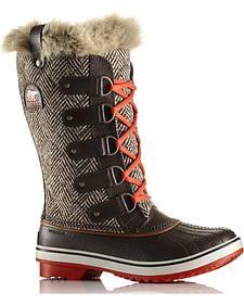 Sorel Women's Tofino Herringbone Boots