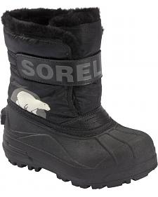 Sorel Boys' Snow Commander Boots - 9-13
