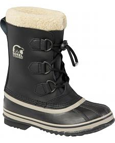 Sorel Youth Yoot Pac TP Black Boots