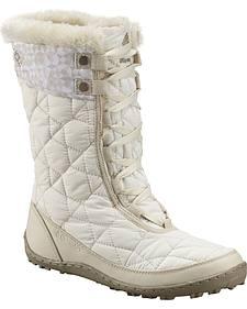 Columbia Women's Minx Mid II Omni-Heat Print Winter Boots