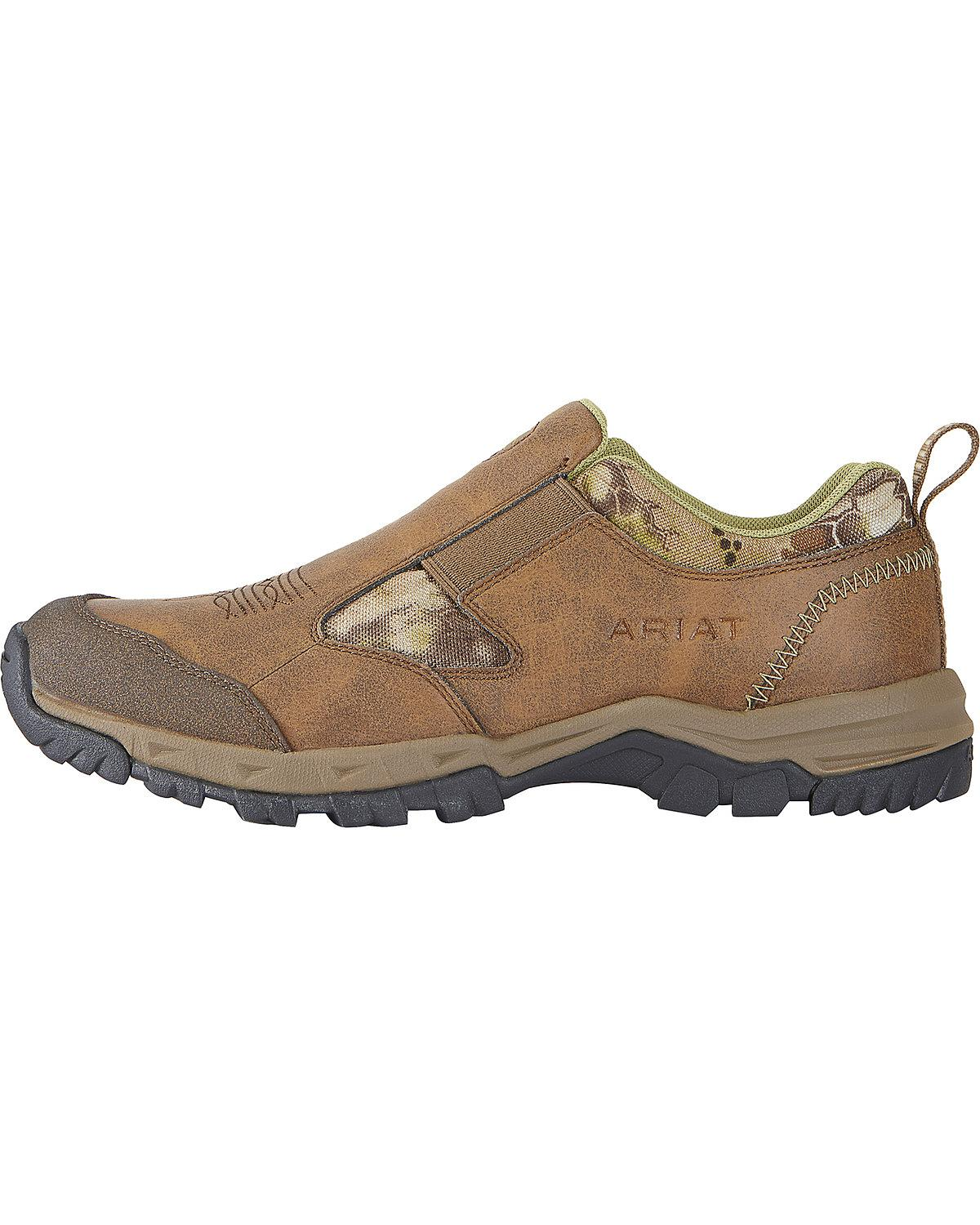 ariat s kelso slip on highlander outdoor shoes