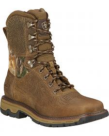 "Ariat Men's 8"" Conquest Waterproof Hunting Boots"