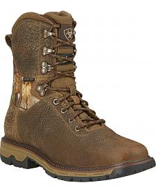 Ariat Men's Conquest H2O Waterproof 400g Insulated Hunting Boots