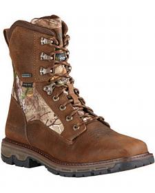 Ariat Men's Insulated Conquest Waterproof Hunting Boots - Square Toe