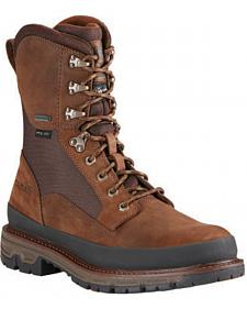 Ariat Men's Insulated Conquest Waterproof Hunting Boots - Round Toe