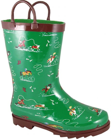 Smoky Mountain Toddler Boys' Rodeo Riders Waterproof Boots