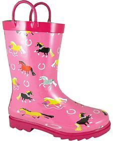 Smoky Mountain Girls' Show Horse Waterproof Boots