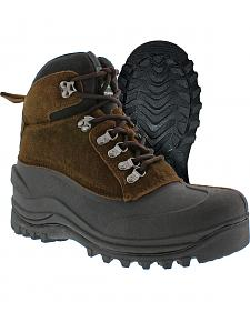 Itasca Men's Waterproof Ice Breaker Winter Boots - Round Toe
