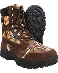 Itasca Men's Waterproof Long Range Hunting Boots - Round Toe