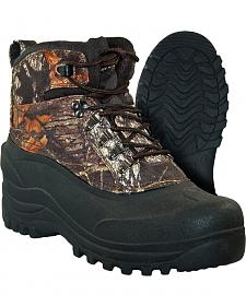 Itasca Men's Waterproof Camo Ice Breaker Winter Boots - Round Toe