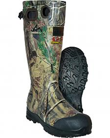 Ducks Unlimited Men's Chaos 400 Camo Rubber Boots