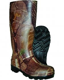 Itasca Men's Ghost Shadow Camo Rubber Boots