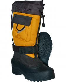 Itasca Men's Black and Yellow Snow Bound Winter Boots
