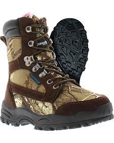 Itasca Women's Waterproof Long Range Hunting Boots - Round Toe