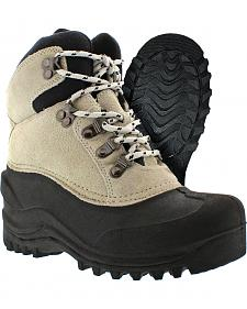 Itasca Women's Waterproof Camo Ice Breaker Winter Boots - Round Toe