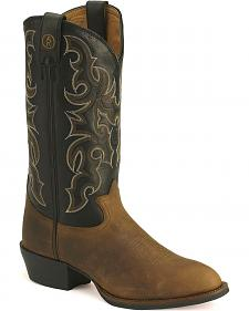 Tony Lama 3R Cowboy Boots - Medium Toe