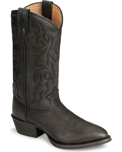 Tony Lama 3R Cowboy Boots Round Toe Western & Country RR4002