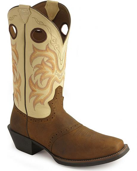Justin Punchy Stampede Cowboy Boots