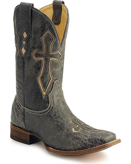 Corral Cross Inlay Western Boots
