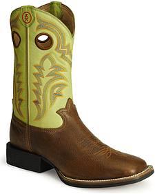 Tony Lama 3R Stockman Cowboy Boots