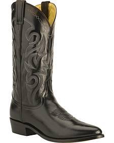 Dan Post Mignon Leather Cowboy Boots - Medium Toe