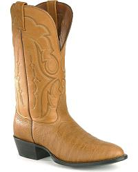 Nocona Bull Hide Boots - pointed toe at Sheplers