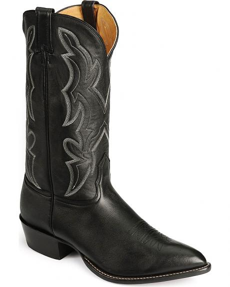 Nocona Lux Leather Boots - Pointed Toe