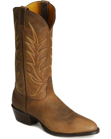 Nocona Vintage Leather Cowboy Boots -Medium Toe