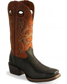 Tony Lama 3R Western Cowboy Boots - Square Toe