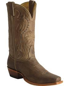 Nocona Legacy Vintage Cowboy Boots - Snoot Toe