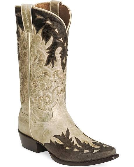 Dan Post Gambler Cowboy Boots - Snip Toe