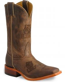Nocona Men's Louisiana State Tigers College Boots - Square Toe