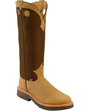 Justin Dune Traction Snake Proof Cowboy Boots - Round Toe
