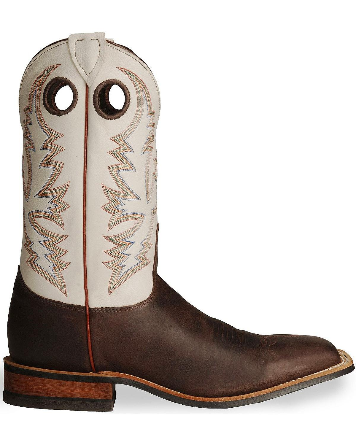 Perfect Justin Boots Stampede Punchy Cowboy Boots - Leather Square Toe (For Women) - Save 33%