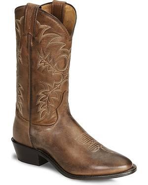 Tony Lama Kango Americana Cowboy Boots - Medium Toe
