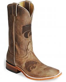 Nocona Kansas State Wildcats College Boots - Sq Toe