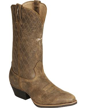 Twisted X Distressed Cowboy Boot - Medium Toe