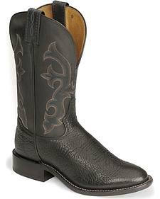 """Tony Lama 11"""" Conquistador Shoulder Boots - Round Toe"""