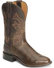 """Tony Lama 11"""" Conquistador Shoulder Boots - Medium Toe"""