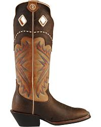 Tony Lama 3R Series Fancy Buckaroo Boots - Sq Toe at Sheplers