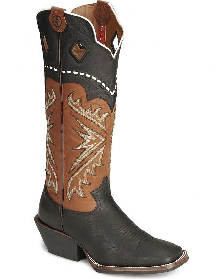 Tony Lama 3R Series Fancy Buckaroo Boots - Sq Toe