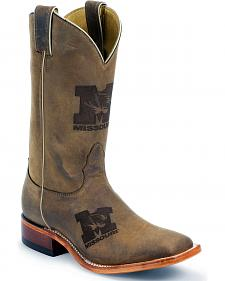 Nocona University of Missouri Tigers College Boots - Square Toe