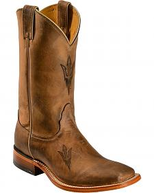 Nocona Arizona State College Boots - Snoot Toe