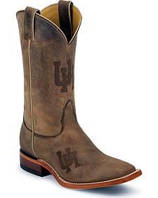 Nocona University of Houston Cougars Cowboy Boots - Square Toe